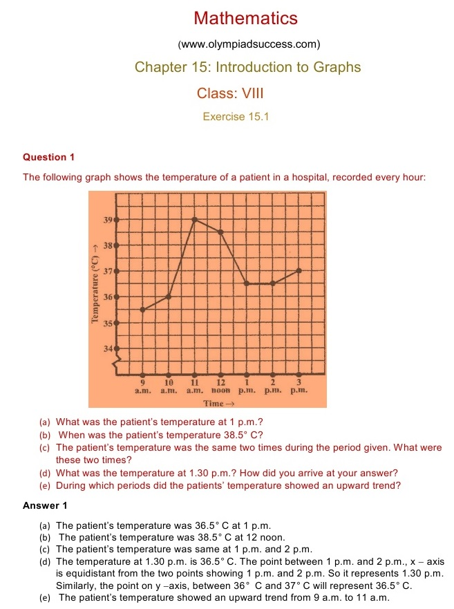 NCERT Solutions for Maths Class 8 Chapter 15