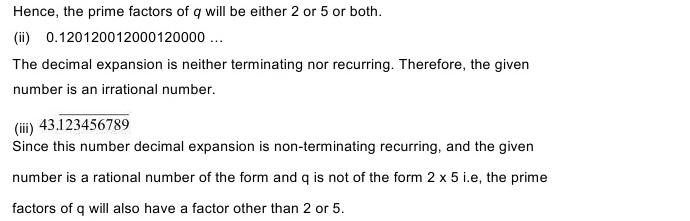 NCERT Solutions for Maths Class 10 Chapter 1