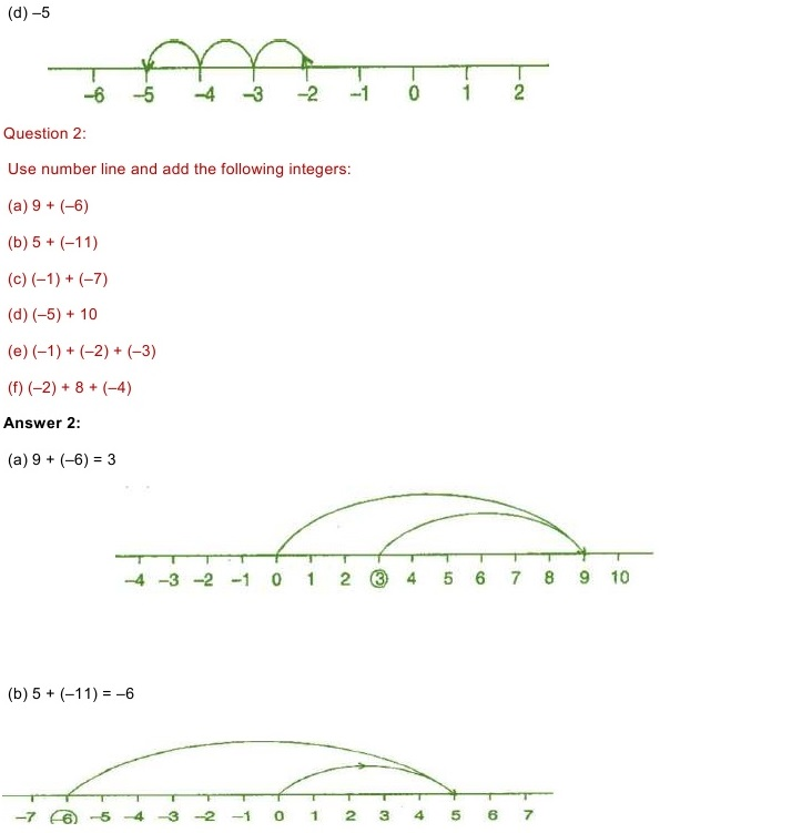 NCERT Solutions for Maths Class Chapter Exercise
